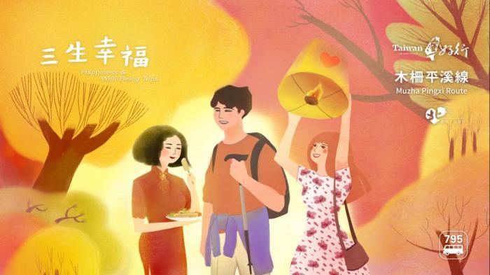 【台灣好行-木柵平溪線】三生幸福輕旅包 1